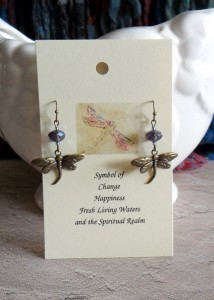 dragonfly earring BP style B