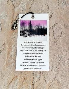 Iditarod zipper pull