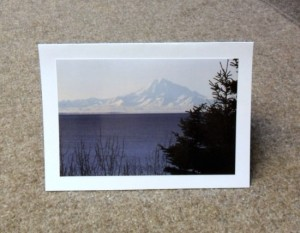Mt Redoubt Alaskan card