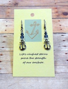 anchor earrings 2014