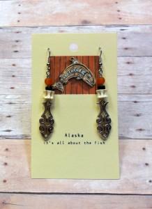 fish earring AK