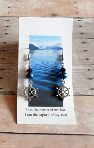ship wheel earring